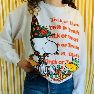 [vintage] Snoopy Peanuts Halloween Sweatshirt